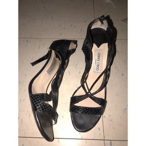 Jimmy Choo Shoes - Jimmy Choo snakeskin heels